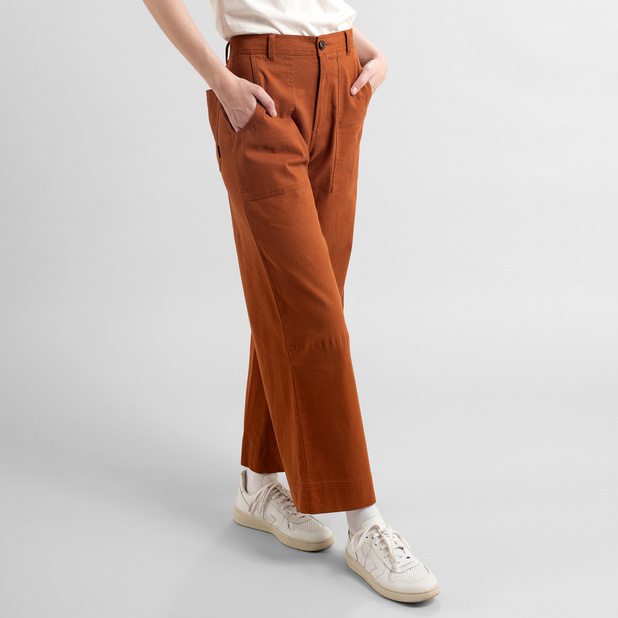 Dedicated - Workwear Pant, Mocha Brown