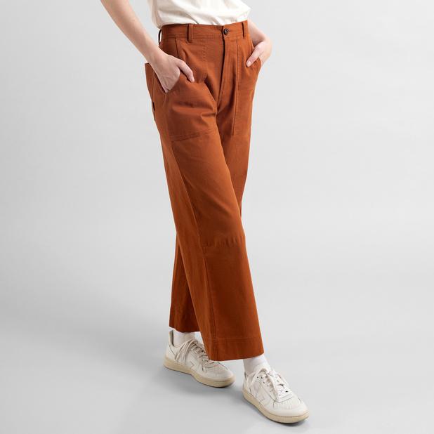 Dedicated - Workwear Pant, Mocha Brown