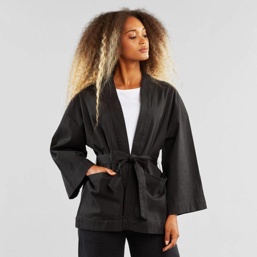Dedicated - Black Kimono
