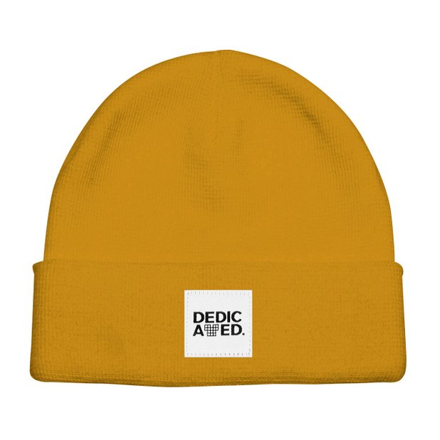 Dedicated - Kiruna Golden Yellow Beanie