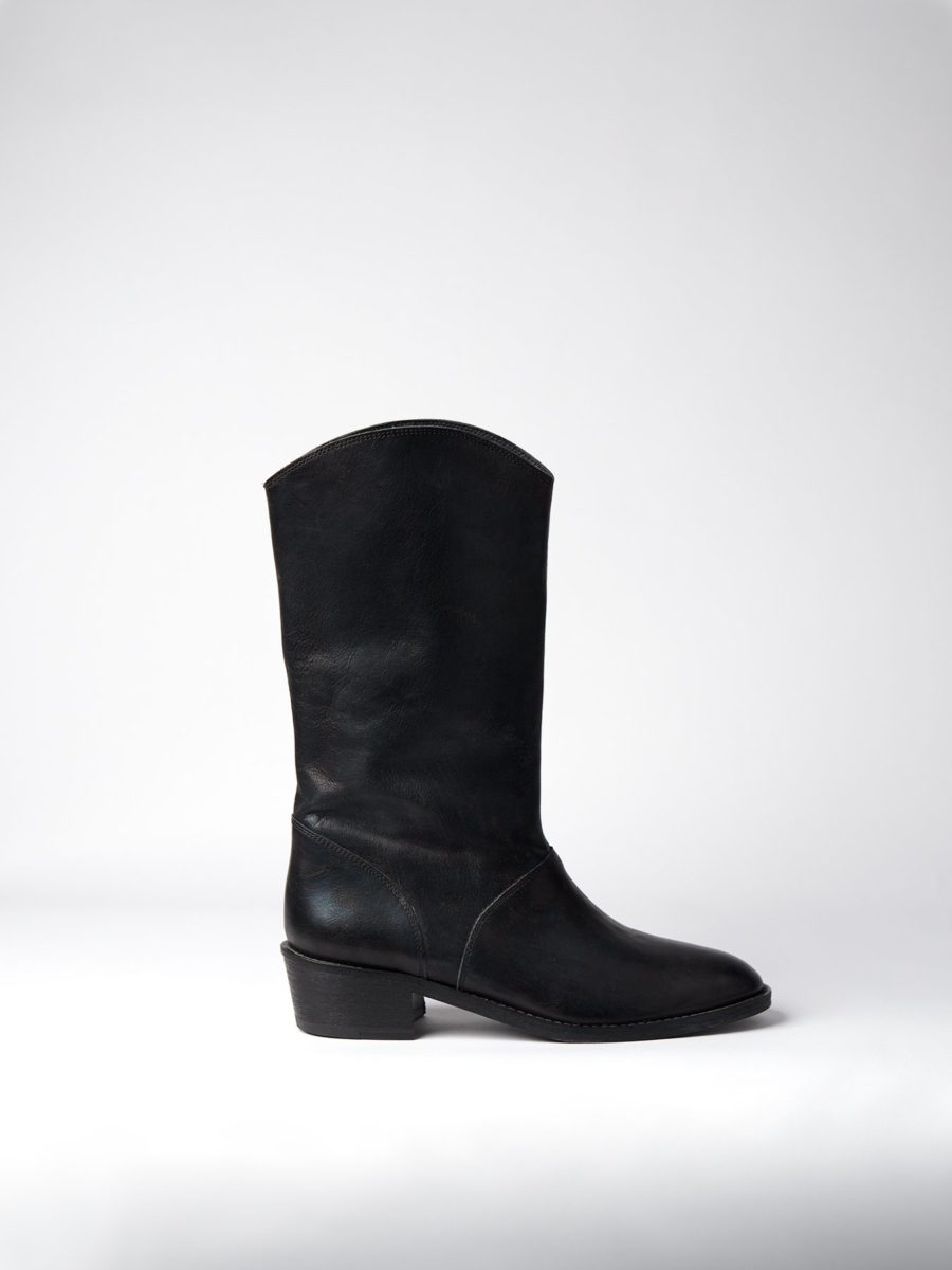 Blankens - The Jane, Black Leather