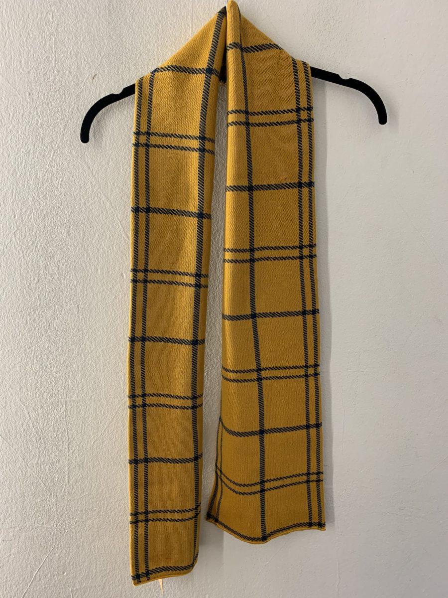 Dedicated - Scarf, Big Check Golden Yellow