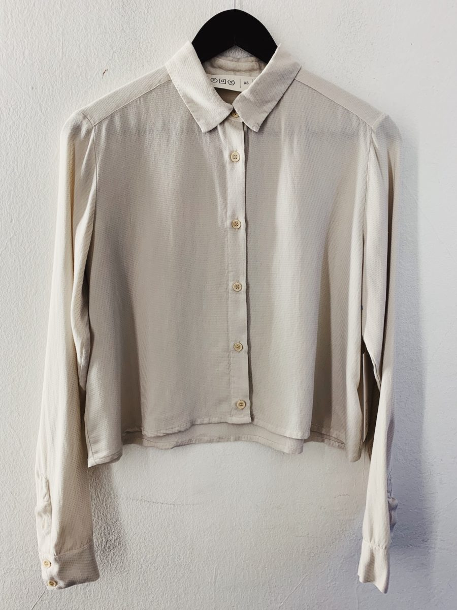 CUS - Segvi Tencel Shirt, Bone