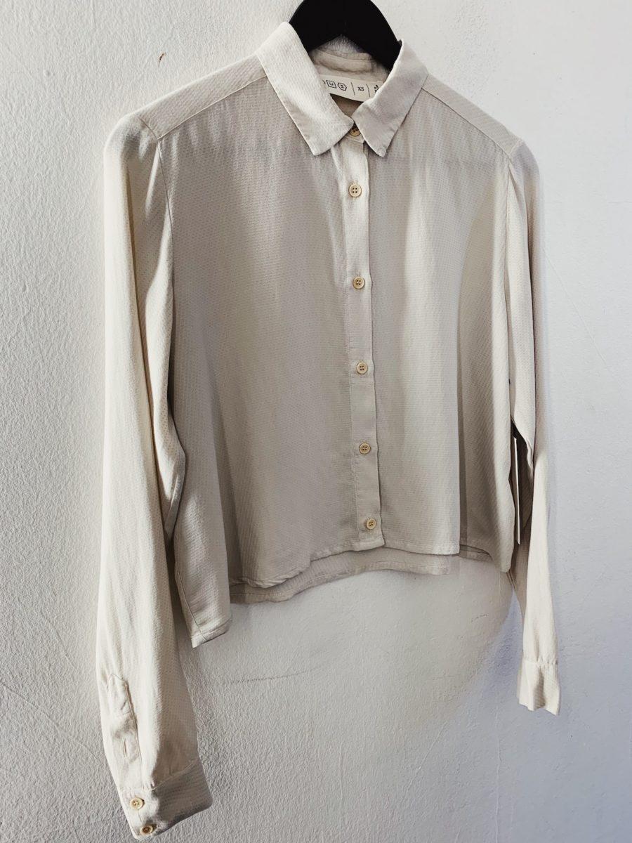 CUS - Segvi Tencel Shirt, Bone