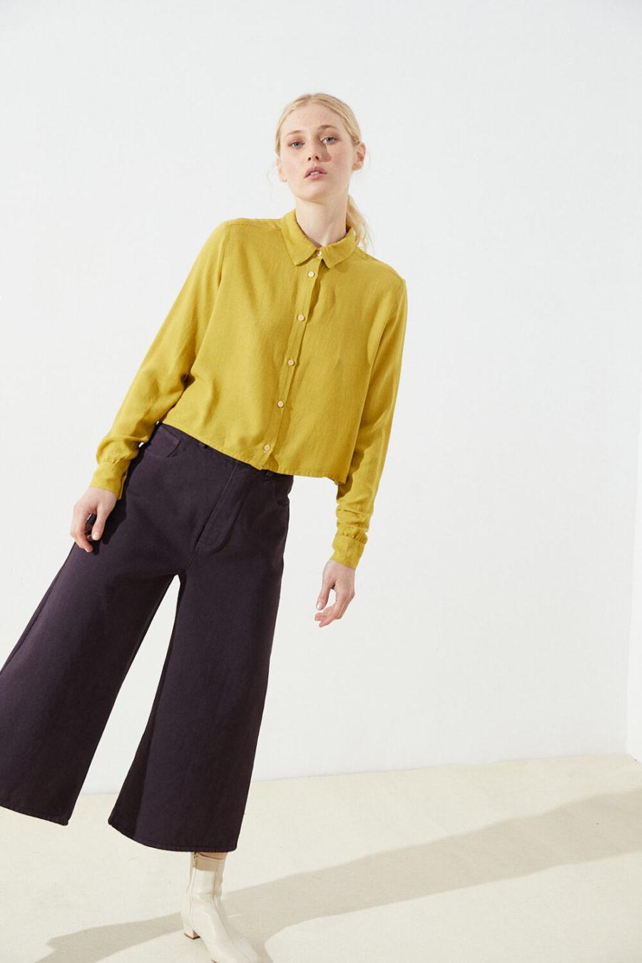CUS - Segvi Tencel Shirt, Amber