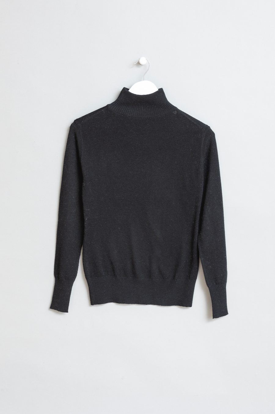 Dinadi - Merino Turtleneck, Black
