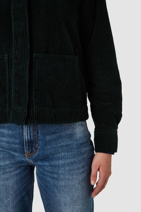 Kings of Indigo - Ota Jacket, Dark Green Corduroy