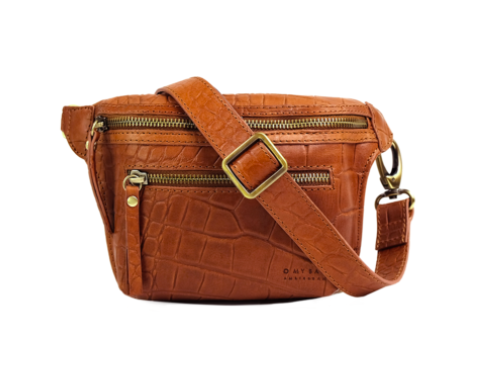 O My Bag - Becks Bum Bag, Wild Oak Croco
