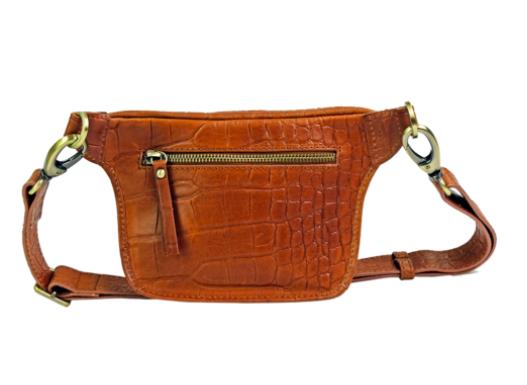 O My Bag - Becks Bum Bag, Wild Oak Croco