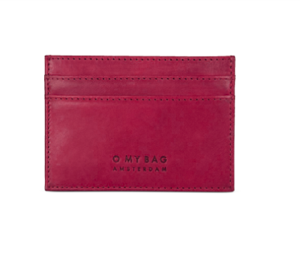 O My Bag - Mark's Cardcase, Ruby