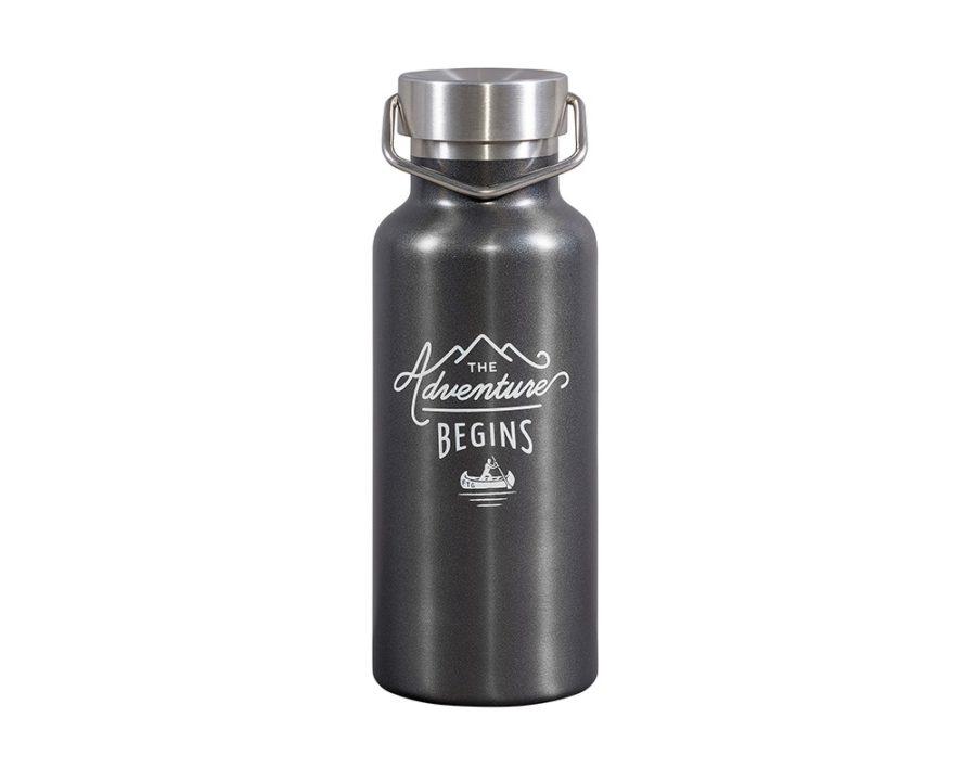 Gentlemen's Hardware - Adventure Vattenflaska, grå