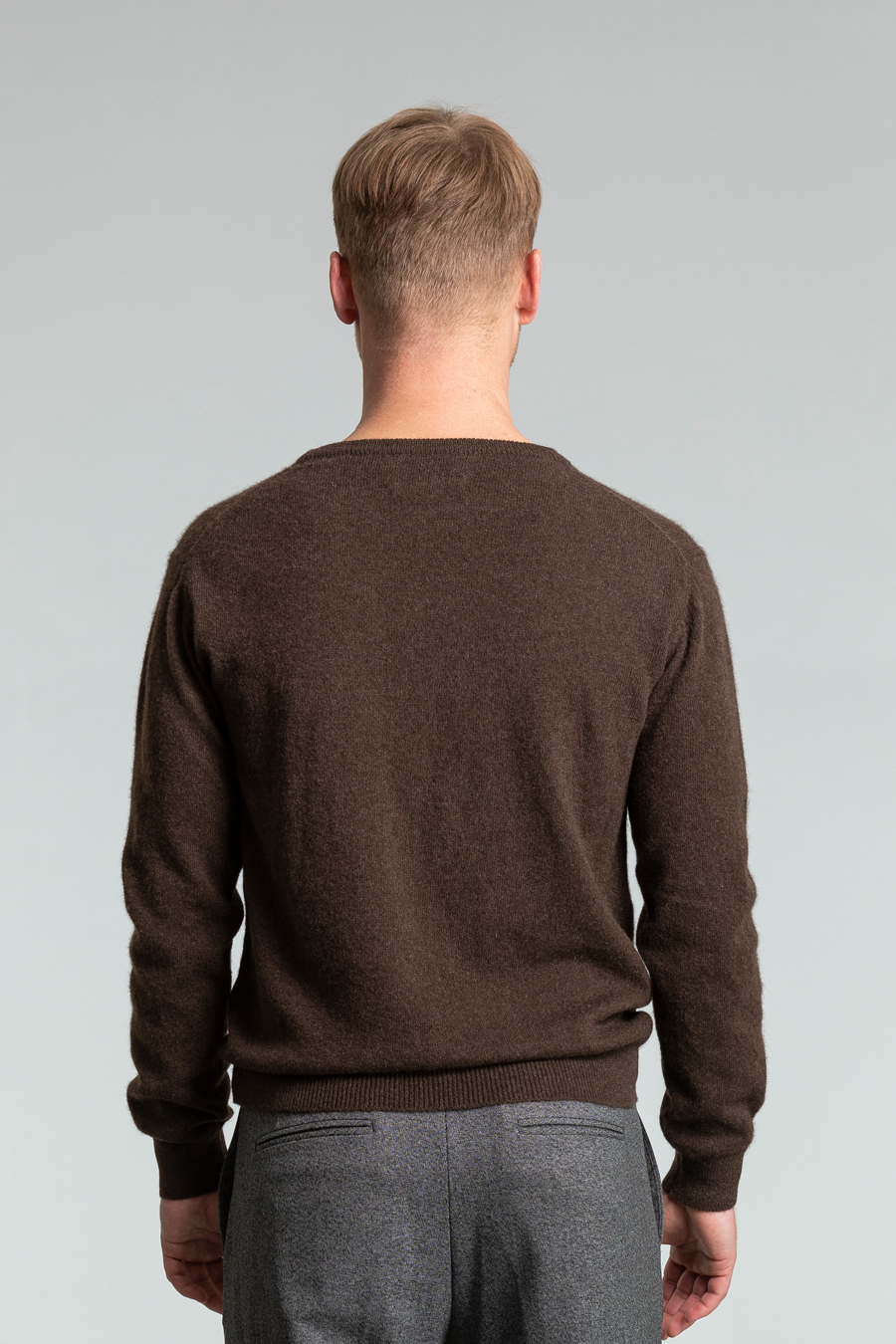Dinadi - YAK Sweater, Dark Brown