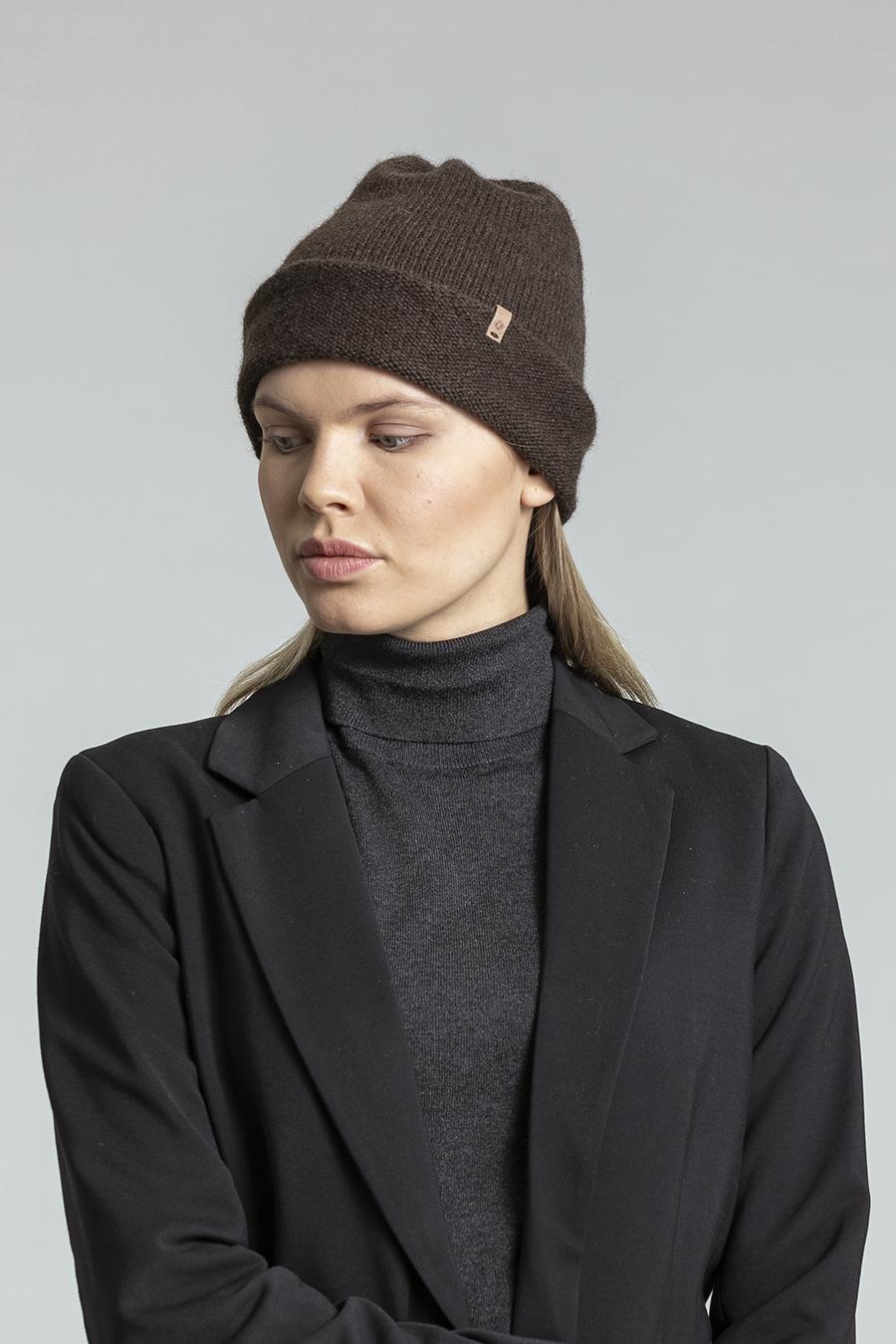 Dinadi - YAK Tube Hat, Dark Brown
