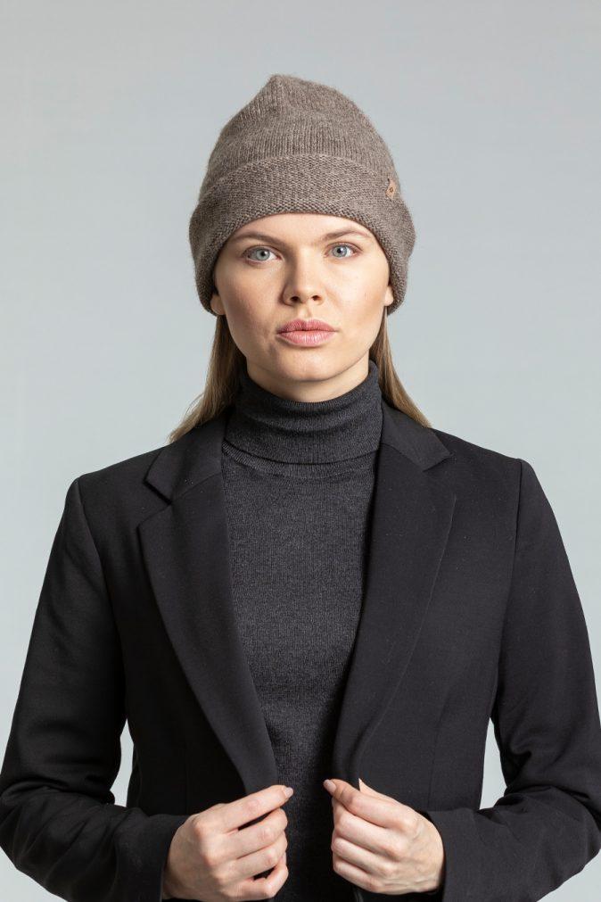 Dinadi - YAK Tube Hat, Oat Brown