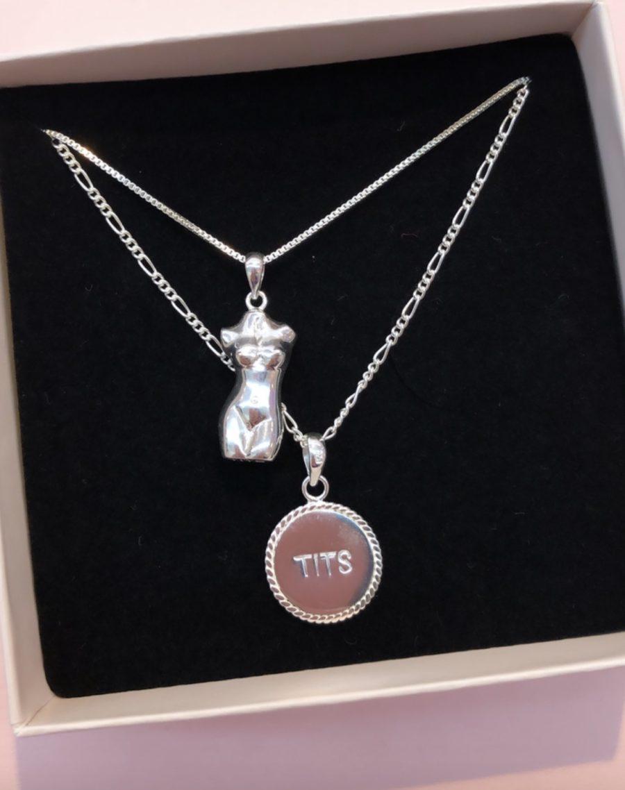 T.I.T.S. - Body Pendant, Silver