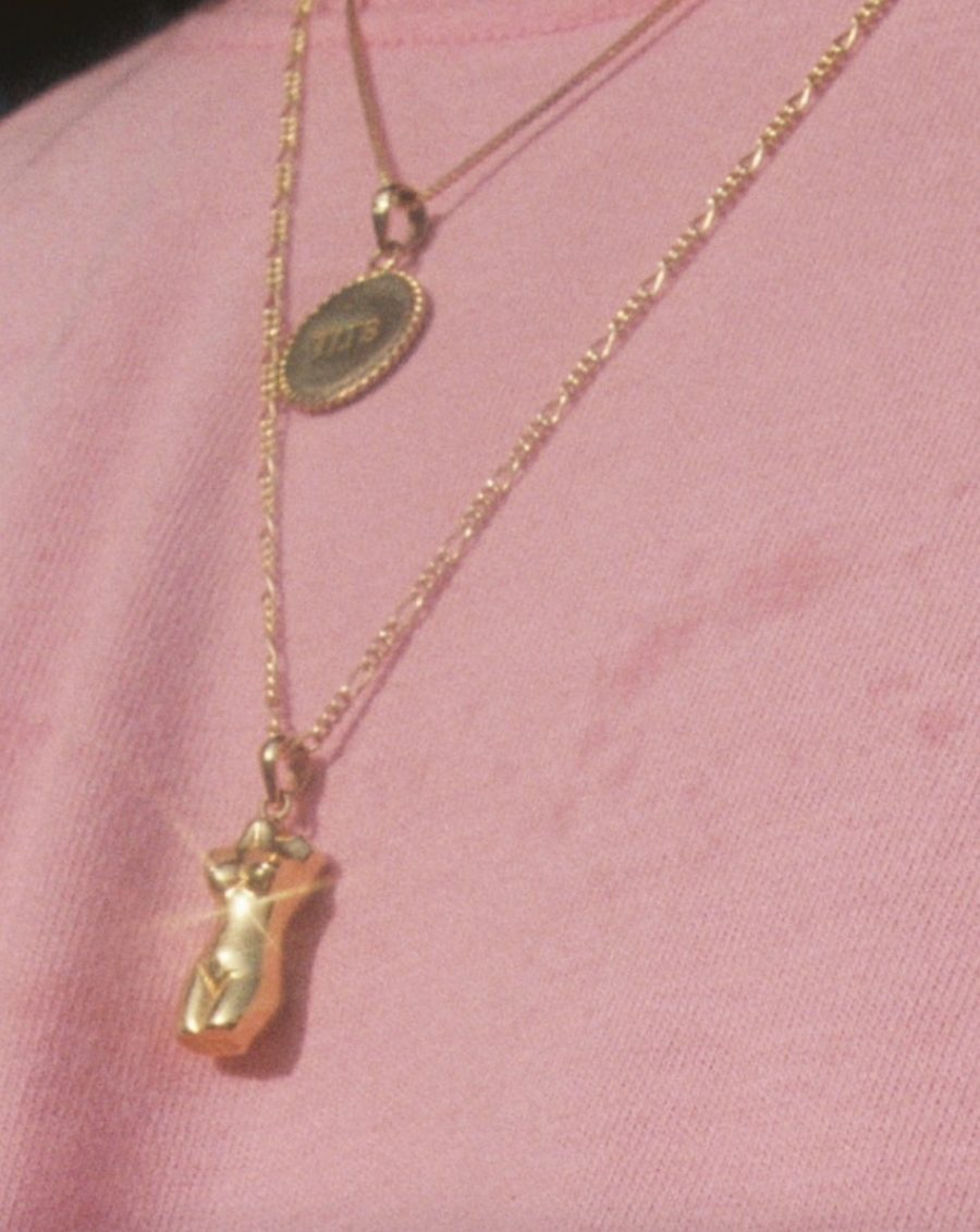 T.I.T.S. - Body Pendant, Gold