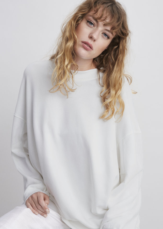 ORES - Grey Lux Jersey Sweater