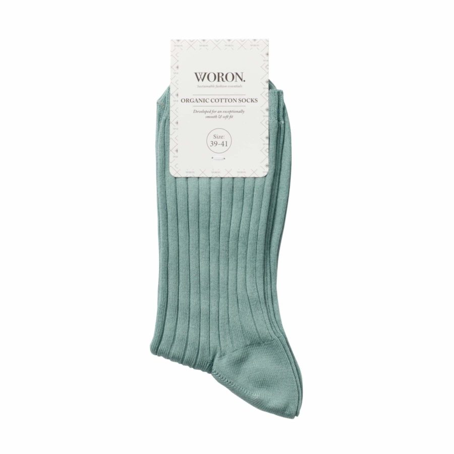 Woron - Socks, Aqua