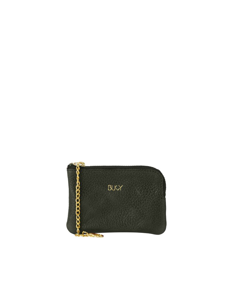 Bukvy - Von Otter Miniplånbok, grönt läder
