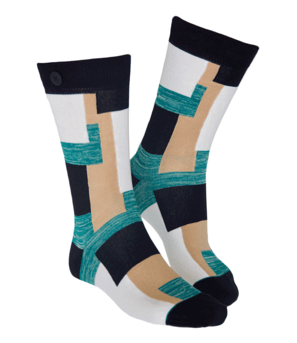 Qnoop - Socks, Camo Beige