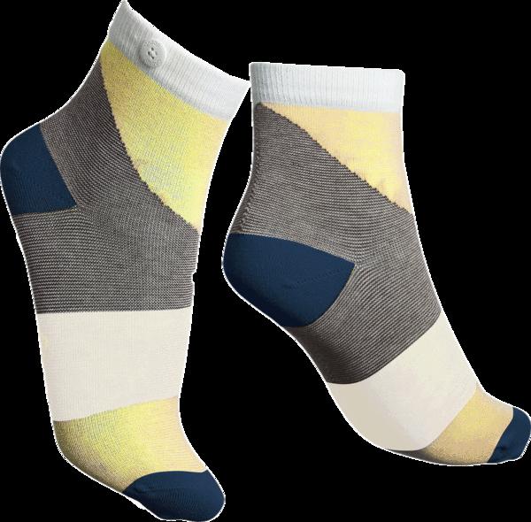 Qnoop - Socks, Athena Yellow
