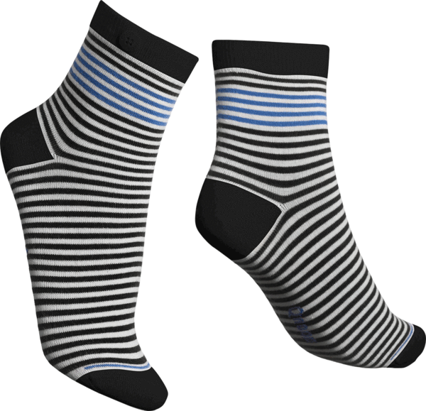 Qnoop - Socks, Chamois Black