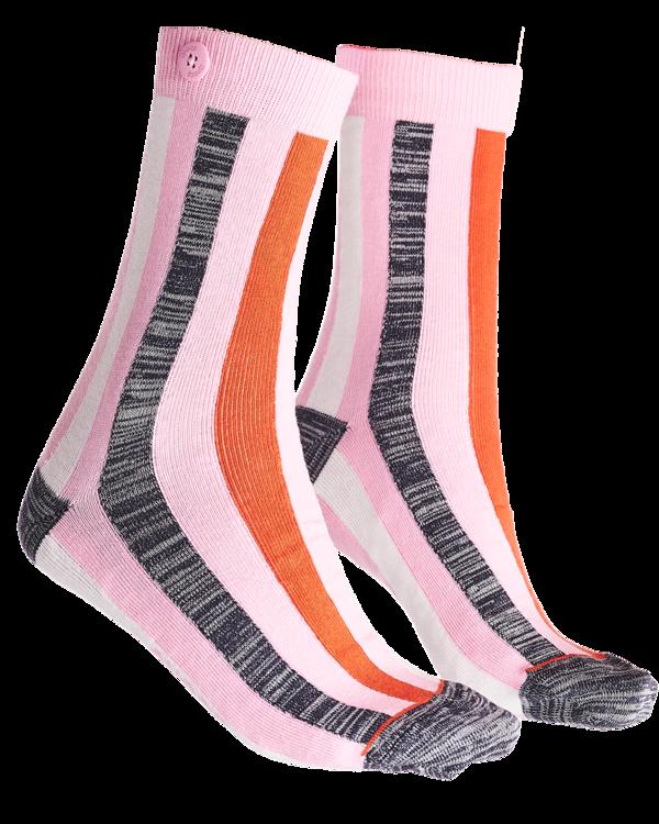 Qnoop - Socks, Sunscreen Soft Pink