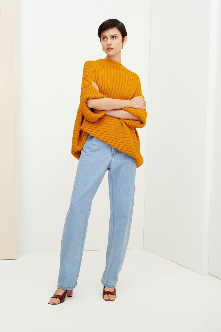 Kowtow - Direction Jumper, Marigold