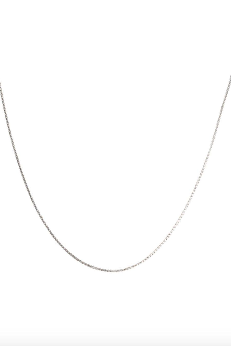 T.I.T.S. - Box Chain, Silver