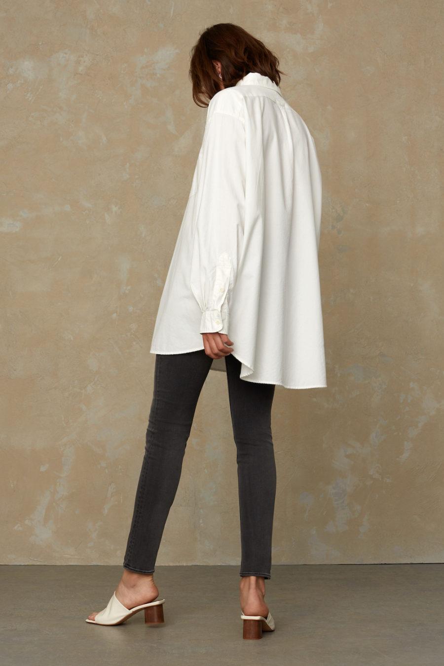Kings of Indigo - Fanny Oversized Shirt, White