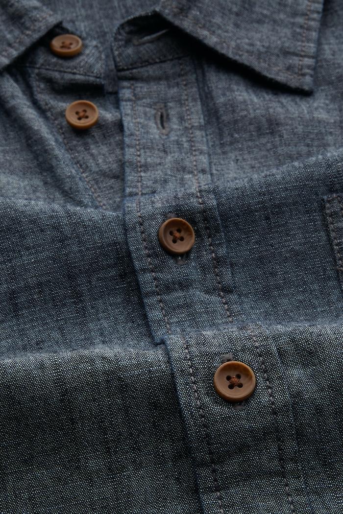 Kings of Indigo - Enda Pocket Shirt, Chambray