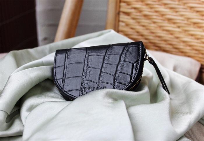 O My Bag - Laura's Purse, Black Croco