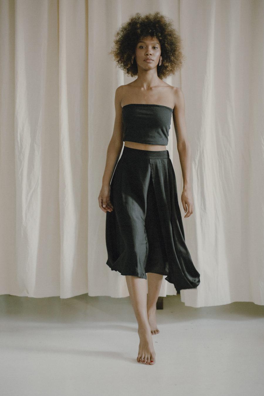 Cossac - High-Low Midi Skirt