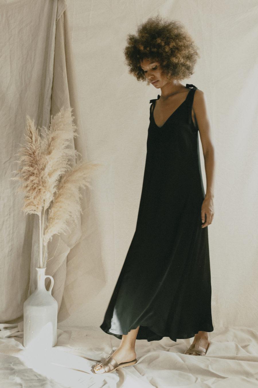 Cossac - Maxi Dress, Black