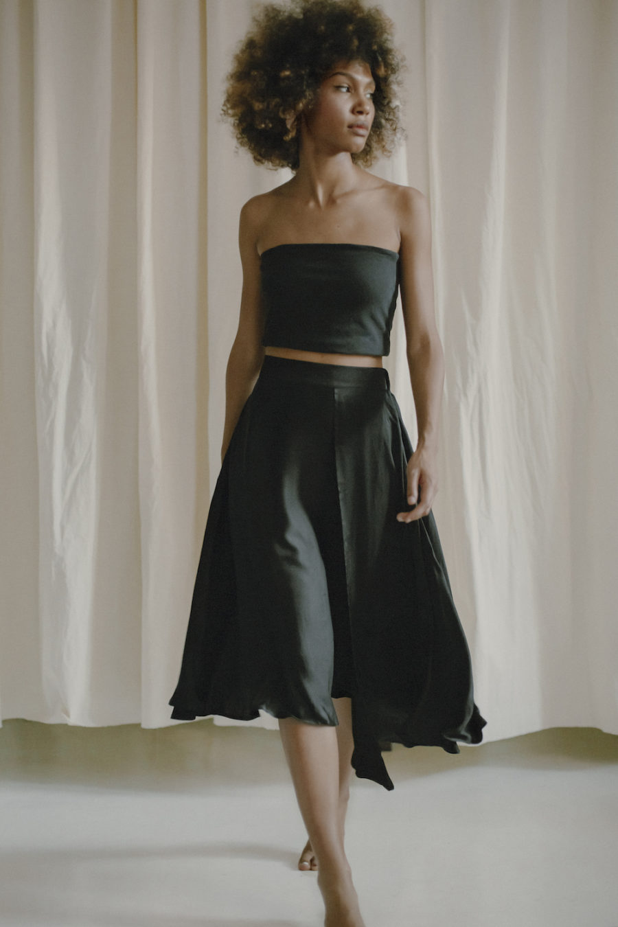 Cossac - High-Low Midi Skirt