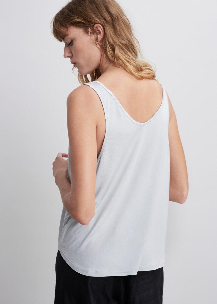 ORES - Grey Silk Tank