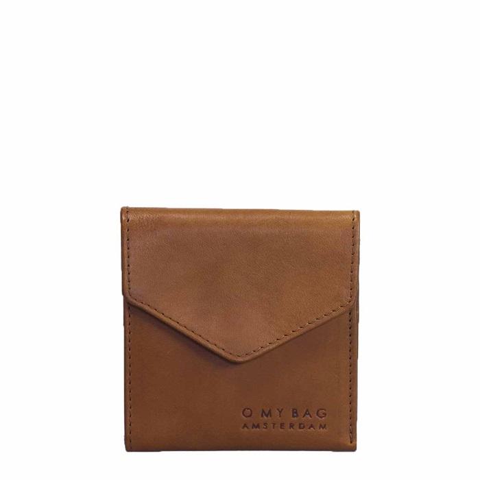 O My Bag - Georgies Wallet, Cognac Stromboli Leather