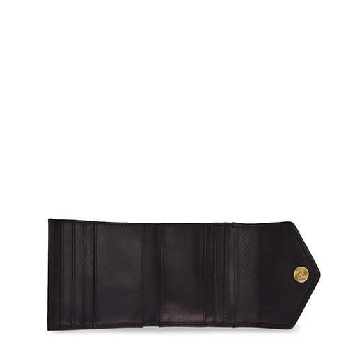 O My Bag - Georgies Wallet, Black Stromboli Leather