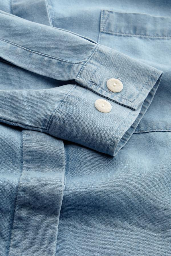 Kings of Indigo - Taja Shirt, Chambray Tencel