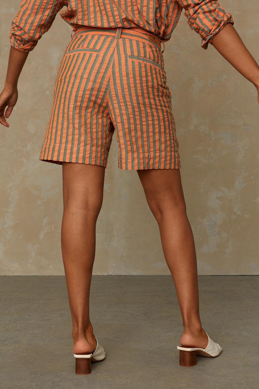 Kings of Indigo - Bangja Shorts, Cinnabar