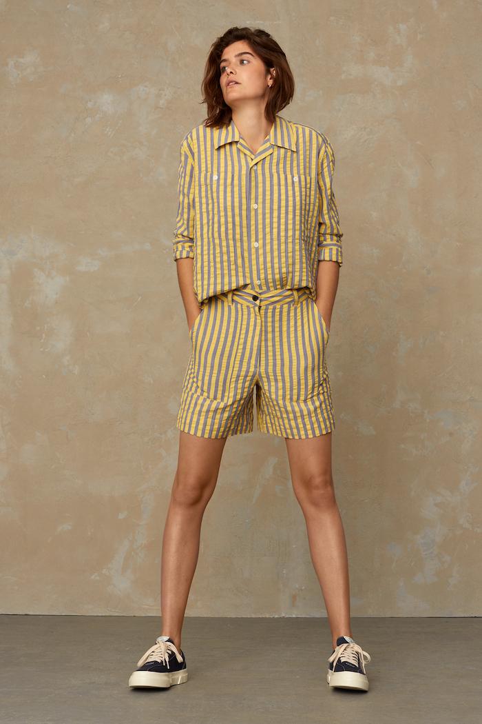 Kings of Indigo - Maud Shirt, Sunlight