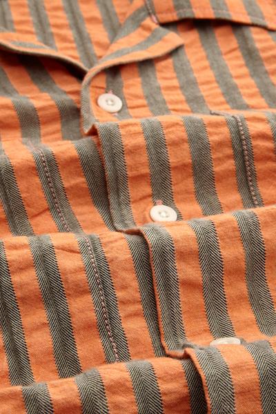 Kings of Indigo - Maud Shirt, Cinnabar