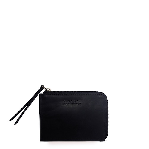 O My Bag - Coin Purse, Classic Black Leather
