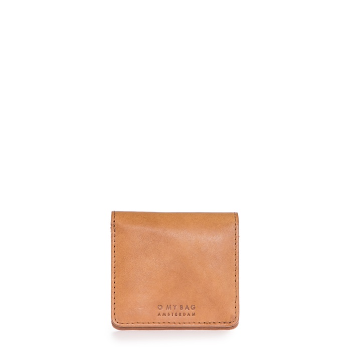 O My Bag - Alex Fold Over Wallet, Cognac Classic Leather