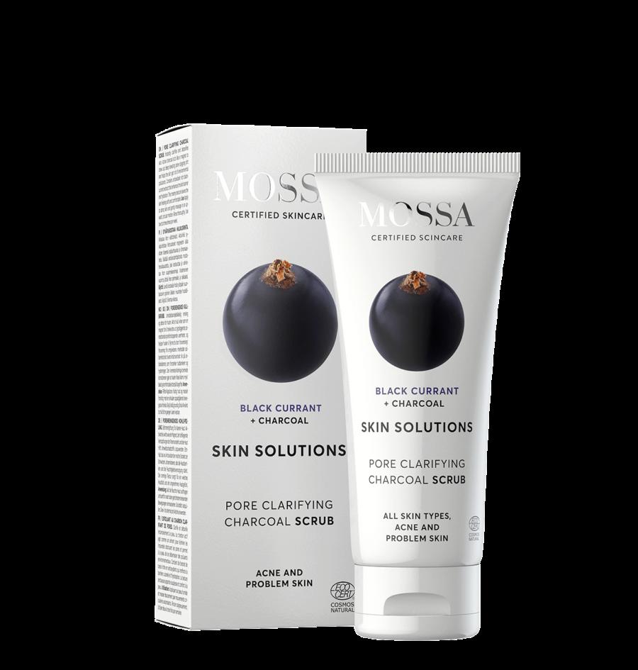 Mossa - Skin Solutions Charcoal Scrub