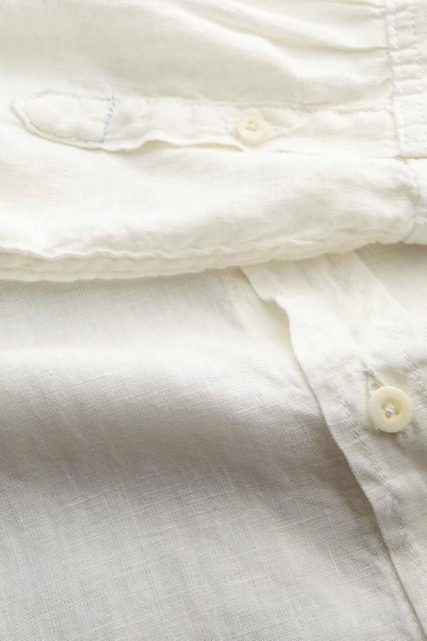 Kings of Indigo - Enda Linen Shirt, White