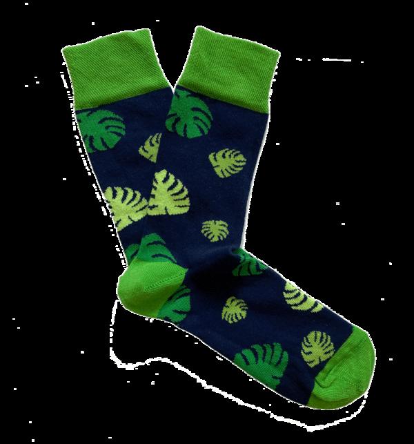 Kind Socks - Monstera Sock
