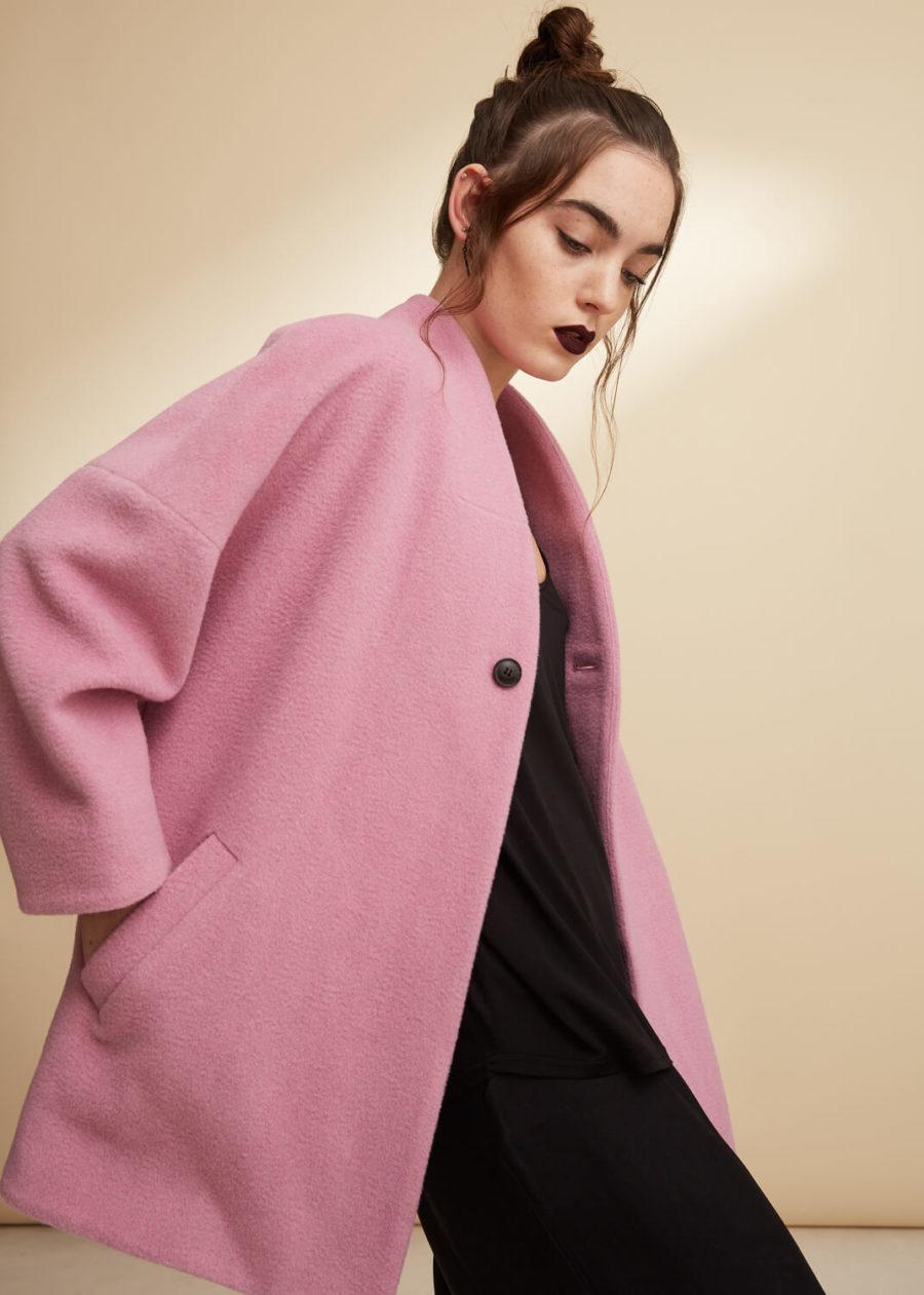 ORES - Pink Alpaca Coat