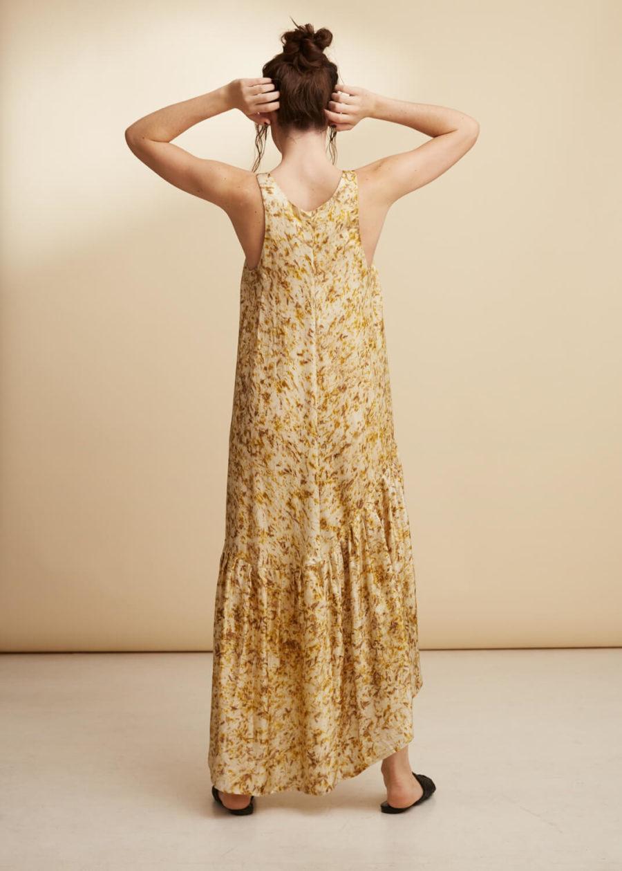 ORES - Natural Eco Print Silk Dress