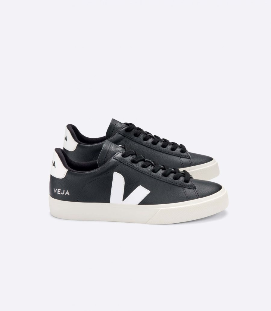 Veja - Campo Sneaker, Chromefree Black White